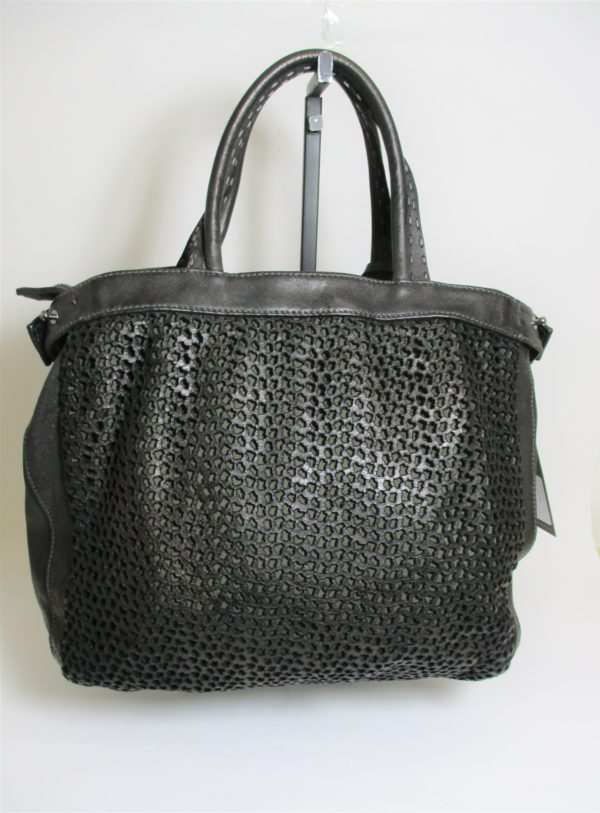 Borsa donna in Pelle REPTILE'S HOUSE H504 Nero