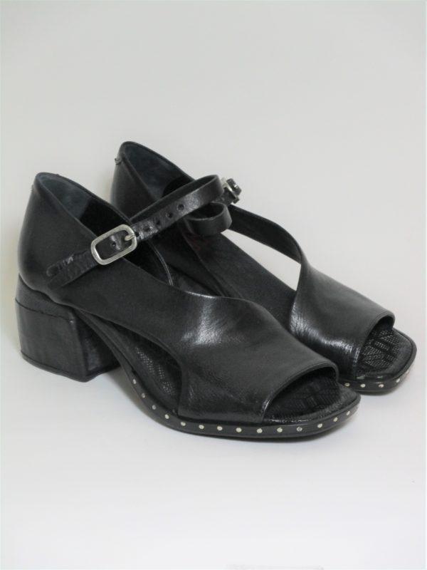 Sandalo Pelle Donna AS 98 624010 Nero