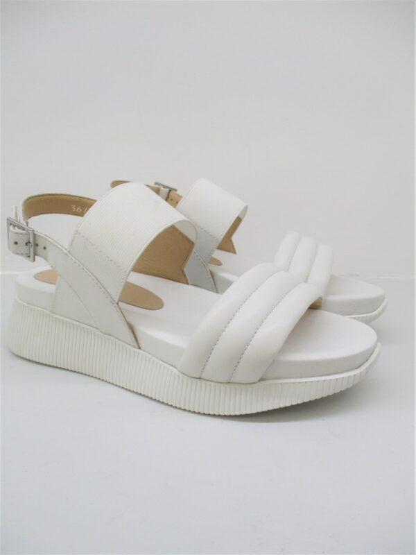 Sandalo pelle donna Barracuda's Bianco 2001